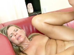 Lusty granny Samantha is indeed a very nasty old woman