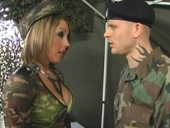 Commanding officer fucks sexy girl...