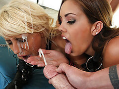 On the job site, Jacky Joy moonlights as a construction worker just to be around hard body guys. After fucking everyone, she wanted something more like, to be a sex slave and get jack hammered by a big cock and covered in cum! Getting slapped around and f