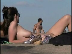 Asses and Pussies on Canadian Beach by TROC