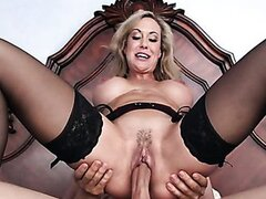 Brandi Love fucks a friend of her son/Brandi Love. Part 4
