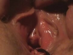 Real Amateur MILF Close-Up Period Fuck...