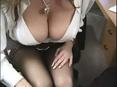 Big Tit Office Slut...
