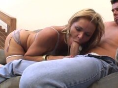 Kelly Leigh loves to have her twat tackled by a massive member