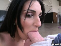 She relishes the opportunity to suck that cock and have it inside her wet cunt