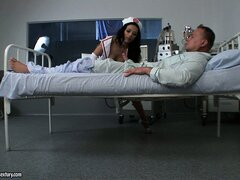 Amazing Shalina Divine loves to play the role of horny nurse