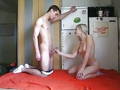 Young teen couple loves quickies