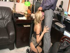 Secretary donna bell gets banged by the boss in hd