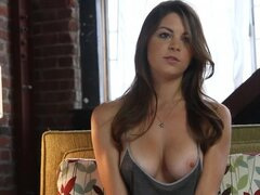 Amber Sym Plays Guitar And Rocks Her Naked Body About