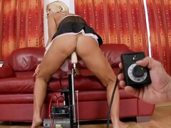 Hello to everyone! This is a very hot and crazy action with a nasty granny whose name is Orhidea. She gets a big young dick and sucks it! So just watch and enjoy people!