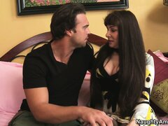 Stunning brunette cougar Alexandra Silk is on the lookout for hardcore fun