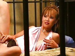 Asian babe fucked in jail
