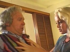 While Asians Have an Anal FFM Threesome Silvia Saint makes an Old Man Cum