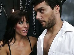 Two horny babes fuck Ramon so hot. Hot video