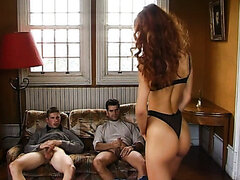 Monica Rossi has always wanted to share her sexual attention between two cocks