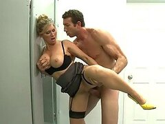 Fucking The Hot Busty Teacher Devon Lee In The Bathroom