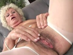 Granny Effie gets pounded in hot interracial video