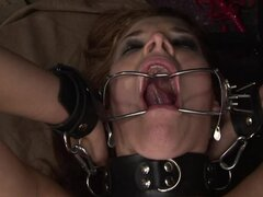 Stephanie Sierra enjoys being tortured and fucked hard