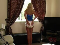Girl wearing diapers 609