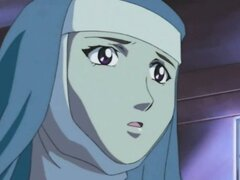 Nun hentai brutally fucking by bandits and swallowing cum