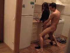 Russian teen gets hard pounded