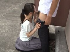 Sexy Japanese Babe Pussy Fingering
