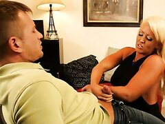 Blonde cougar is getting the deal of her life/Alura Jenson