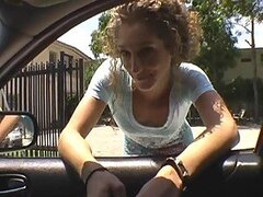 Jada the Streetwalker gets picked up and fucekd hard