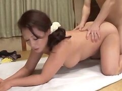 Busty mature loves the rear fuck