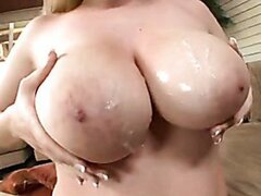 Big Titted Kalie West Gets Her Tits Sprayed With Spunk