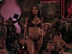 Heart-Stopping Latina Salma Hayek Dancing In a Cock-Bursting Bikini