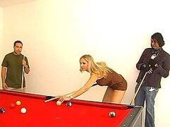Pool Table Sex With A Smoking hot Blonde Milf