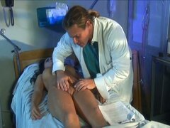 Doctor evan stone gets busty brunette well enough to fuck