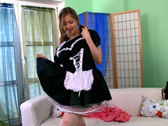 French maid costume for beautiful teen