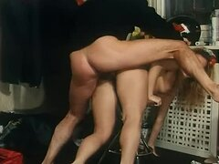 Slutty Blonde Italian Girls Sucking Cock and Getting Fucked in the Office