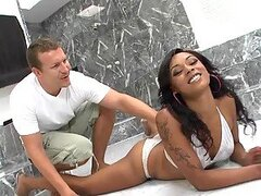 Great Doggystyle Sex With The Ebony Porsha Carrera's Big Ass