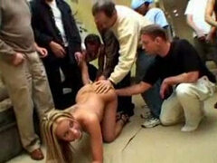 We pounded her doggy style and served her with huge amount of semen