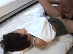 Asian MILF Gets Pounded And Gets Facialed In A Gangbang