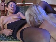 Steaming Hot Lesbian Action With The Hot Babes Viola And Virginia
