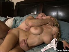 On all fours, Holly gets her anal hole drilled deep and enjoys it to the fullest