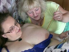 Hd old nanny amateur sex with big tit woman
