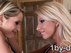 Blonde Lesbianism at it's tall, tanned and slender best!