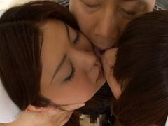 Cock hungry asian sluts sucking...