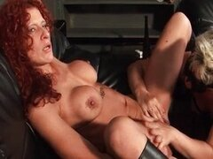 Horny mature housewife with big tits