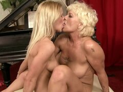 Slutty mature blonde...