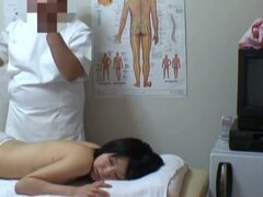 Real voyeur massage scenes with hairy pussy finger checked