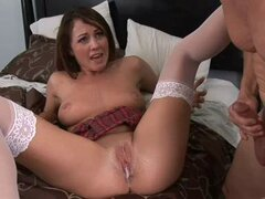 Creampie Surprise For Hot Babe Nikki Anne