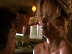 Nicki Aycox Kitchen sex  in Animals