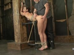 Girl tied and tortured