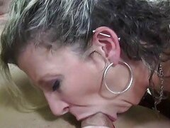 Sara takes a cock deep in